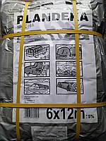 Тент Tenexim Mocny 6*12 м, готовые размеры в асс., плотный 120 г/м2 серебряный с УФ-защитой, фото 1