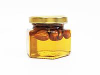 Мёд с миндалем орехами, 120 г