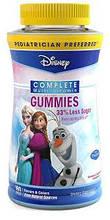 Витамины для детей, Disney Frozen Complete Multi-Vitamin Gummies 180 Count