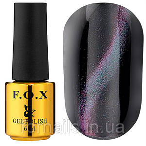 Гель-лак FOX Cat eye 3D №002, 6 мл