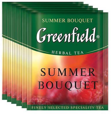 Чай фруктовий GREENFIELD з ароматом і смаком малини 10шт