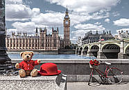 "Пазли касторленд 500 елементів - ""Маленька подорож в Лондон"" Castorland 53315 Швидка доставка, фото 2"