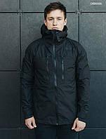 Куртка с капюшоном мужская Staff T black