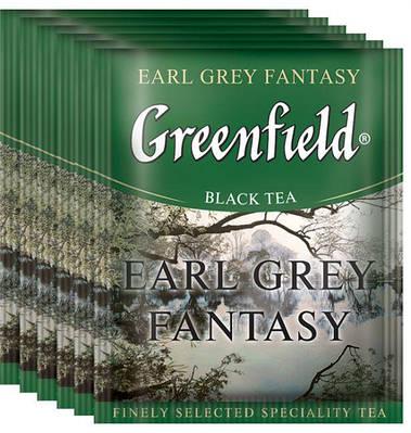Чай GREENFIELD чорний з ароматом і смаком бергамоту 10шт