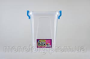 Бокс универсальный с ручками квадратный 0.85 литра № 6