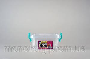 Бокс универсальный с ручками квадратный 0.35 литра № 4