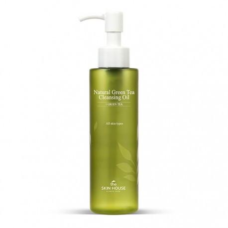 Гидрофильное масло The Skin House Natural Green Tea Cleansing Oil 150 мл (8809080823385)