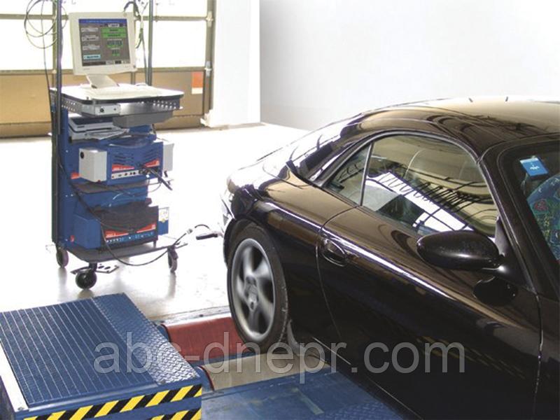 Установка тензодатчиков на тормозные стенды для легковых автомобилей