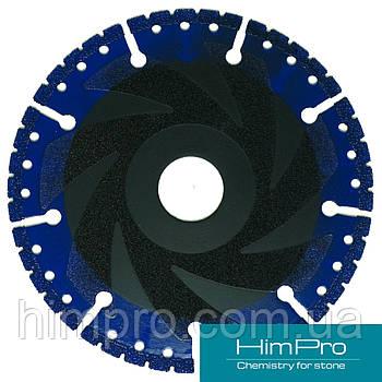 VACUUM BRAZED  BLUE Алмазный отрезной диск для мрамора, двухсторонний на вакуумной пайке