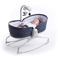 Кресло-кроватка-качалка 3 в 1 Tiny Love Мамины объятия Синее (1805600030)