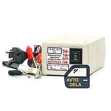 Импульсное зарядное устройство для автомобильного аккумулятора АИДА 5s для свинцово-кислотных аккумуляторов