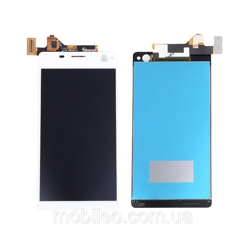 Дисплей (LCD) Sony E5343 Xperia C4 Dual   E5363   E5333 с тачскрином, белый