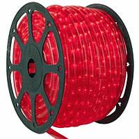 Дюралайт светодиодный Красный 24л/Метр, 2 жилный 100 Метр KF