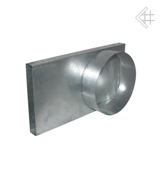 Переходник для подачи воздуха в топку Ø150