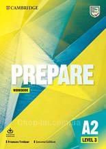 Cambridge English Prepare! Second Edition 3 Workbook with Audio Download / тетрадь