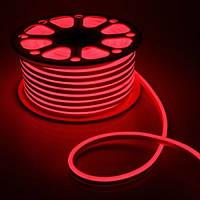 Гибкий неон красный 2835-120 220 VFF-ий