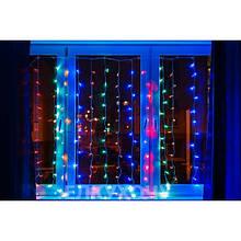 Гирлянда штора Уличная Занавес/curtain 2mх2m, 180 Led цветная VF