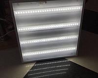 Светодиодный светильник LED Армстронг (призматик / колотый лед) 595*595 36w, 6500К