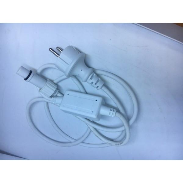Коннектор для гірлянди 10A Білий VX