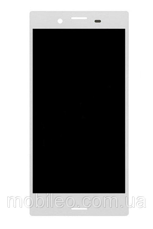 Дисплей (LCD) Sony F5321 Xperia X Compact с сенсором белый