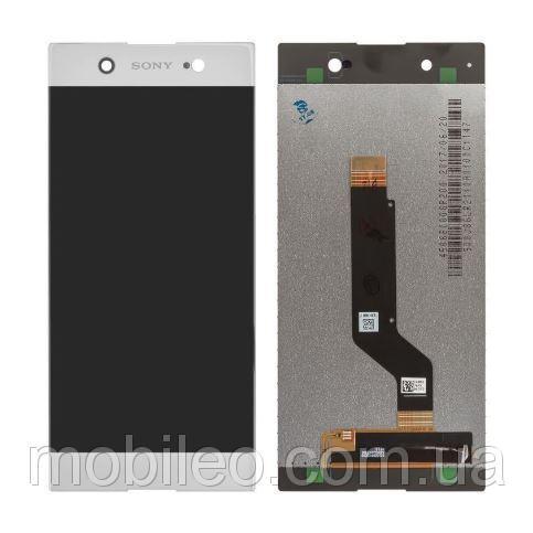 Дисплей (LCD) Sony G3212 Xperia XA1 Ultra Dual с тачскрином, белый