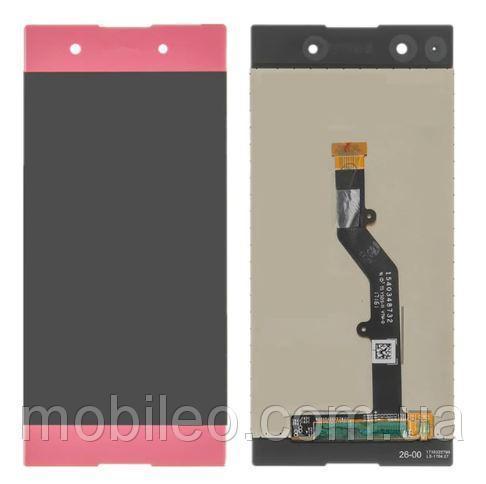 Дисплей (LCD) Sony G3412 Xperia XA1 Plus Dual с тачскрином pink