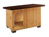 Будка для собак BAITA 100 Ferplast (Ферпласт) деревянная, 122*79*h78 см