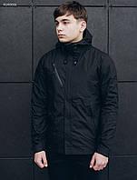 Куртка с капюшоном мужская Staff windstorm black