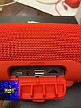 Колонка JBL charge 3 камуфляж черный красный синий, фото 5