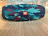 Колонка JBL charge 3 камуфляж черный красный синий, фото 2