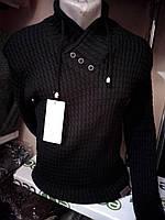 Турецкий черный  свитер