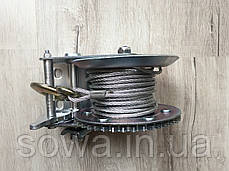 ✔️ Лебедка автомобильная барабанная 1200 фунтів/800кг, фото 2
