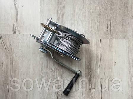 ✔️ Лебідка автомобільна барабанна 1200 фунтів/800кг, фото 2