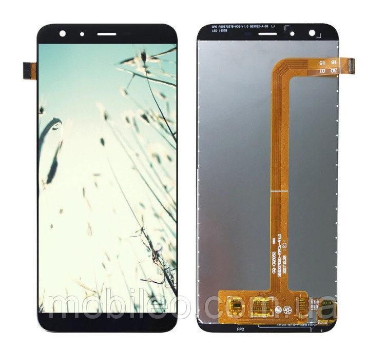 Дисплей (LCD) Ulefone Mix 2 с тачскрином, черный