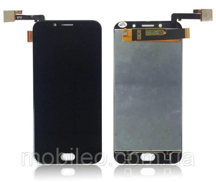 Дисплей (LCD) Umidigi S с тачскрином, чёрный