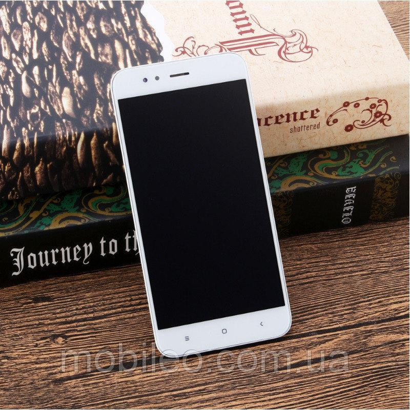Дисплей (LCD) Xiaomi Mi A1 | MiA1 | Mi 5X | Mi5x с тачскрином и рамкой, белый