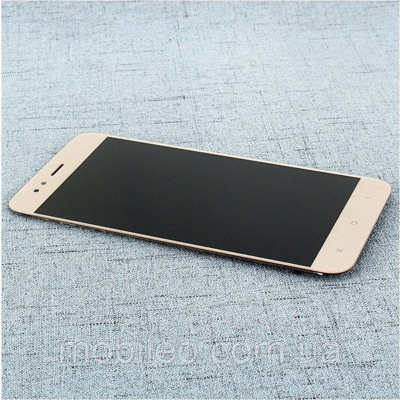 Дисплей (LCD) Xiaomi Mi A1 | MiA1 | Mi 5X | Mi5x с тачскрином, золотой