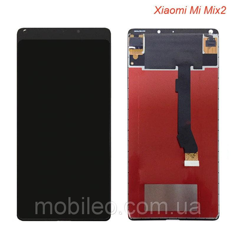 Дисплей (LCD) Xiaomi Mi Mix 2 | Mi Mix Evo с тачскрином, чёрный