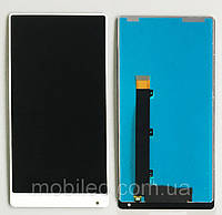 Дисплей (LCD) Xiaomi Mi Mix с тачскрином, белый