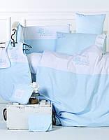 Детский набор - постельное с защитой в кроватку Karaca Home - Family (13 предметов)