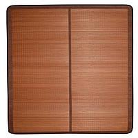 Покрывало циновка бамбук 180х195 см раскладное не лакированное коричневое (47703.001)