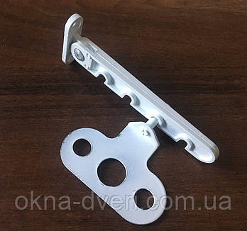 Гребенка ограничитель откидывания или открывания створки металлопластикового окна под ручку