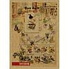 Блокнот на скобі А6 36 аркушів обкладинка картон, фото 3