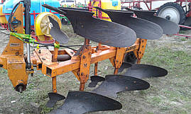Навесной плуг оборотный 3-х корпусный Huard, фото 3