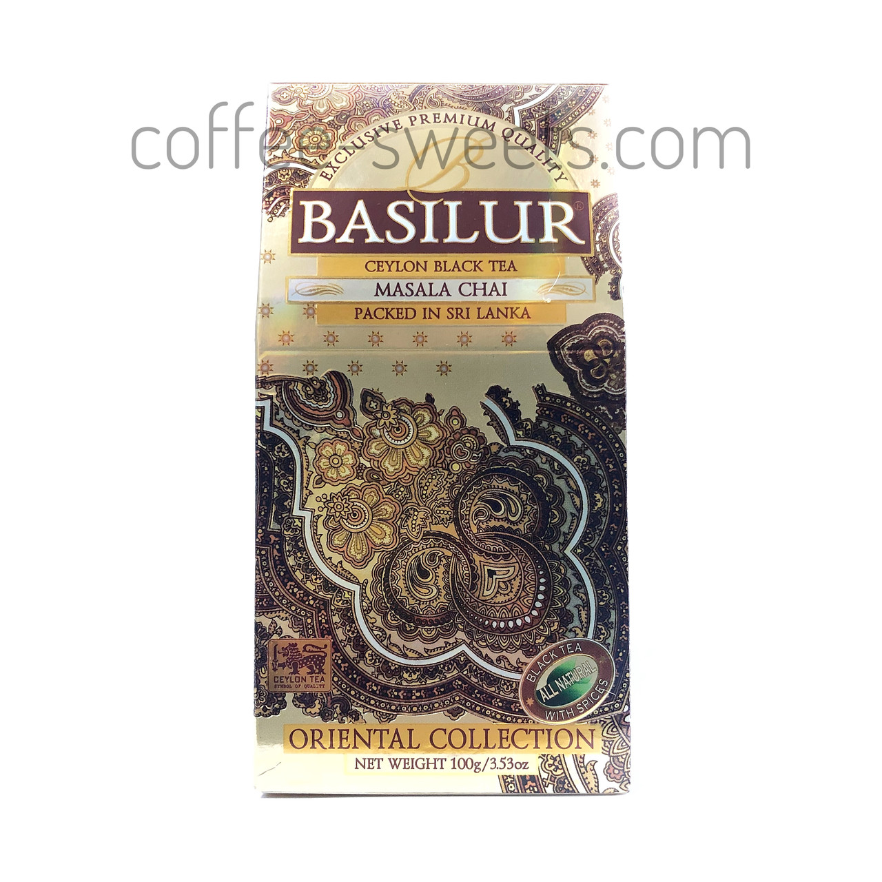 "Чай черный Basilur ""Масала"" Masala Chai 100гр"