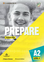 Prepare! Second Edition 3 Teacher's Book with Downloadable Resource Pack / Книга для учителя