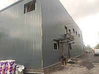 Изготовление и монтаж навесного вентилируемого фасада из профлиста