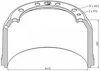 1792520113-11 / Тормозной барабан 410x220 SETRA 315 ComfortClass, EVO-BUS, Integro, Intouro, MultiClass