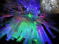Світлодіодна гірлянда Файбер внутрішня 88 led RG-RB/прозрач., фото 1