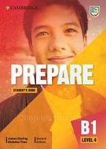 Учебник Cambridge English Prepare! Second Edition 4 Student's Book